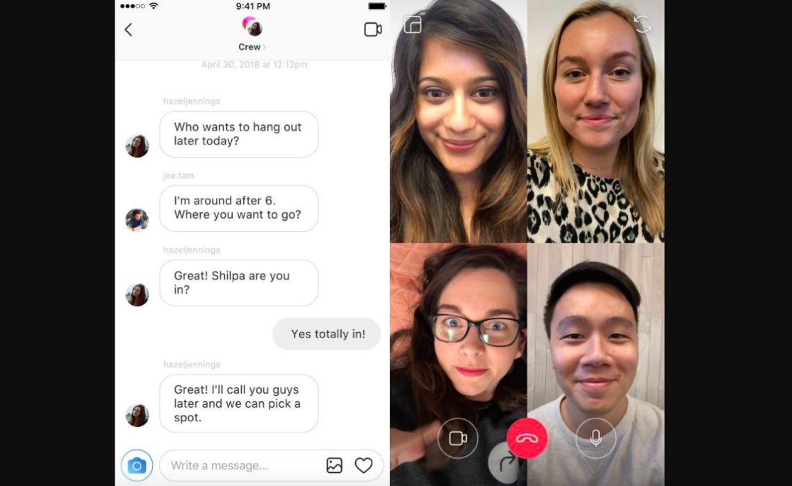Group Video Chat coming to Instagram